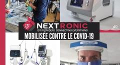 Notre membre Nextronic fait preuve d'agilité, créativité et solidarité face au Covid-19 !